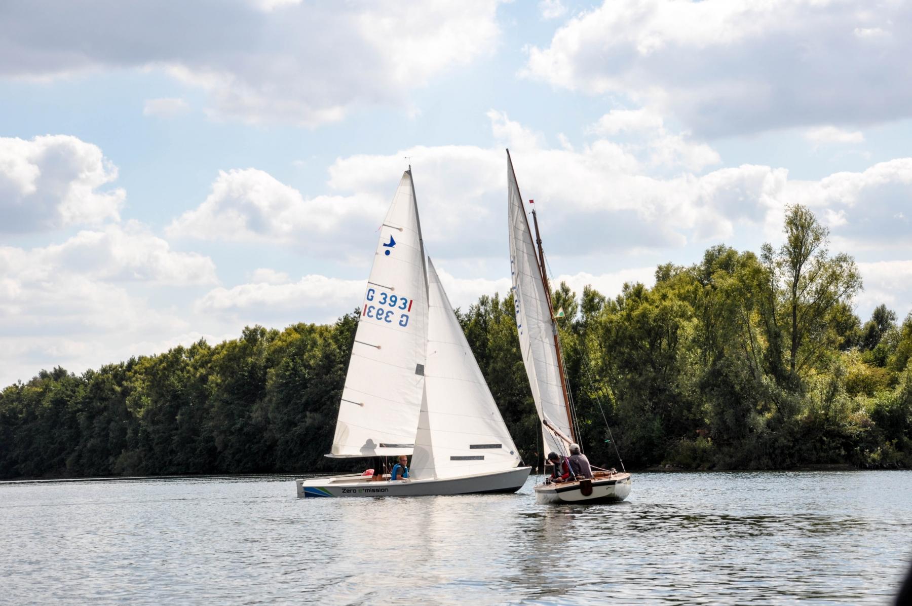 Lothar Fabian und Jochen Gläser - Das Duell am Elfrather See