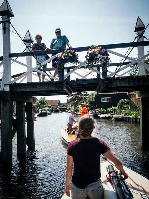 Brücken hielten uns nicht auf
