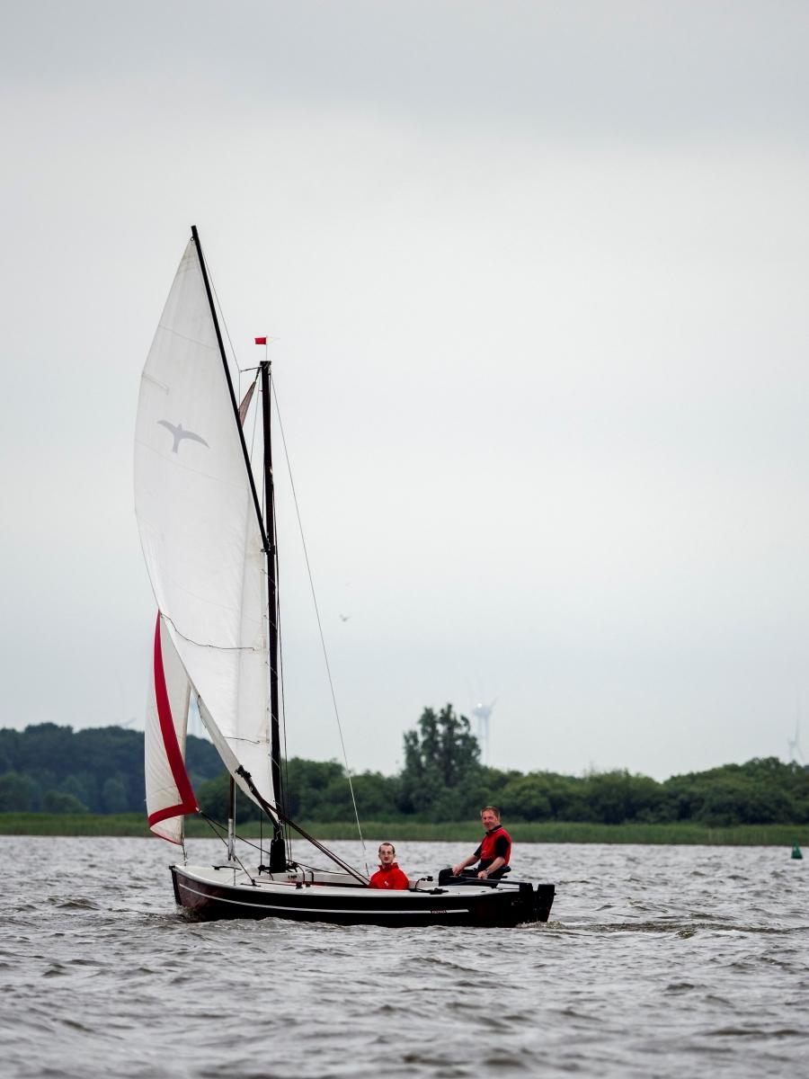 So schön kann segeln sein!