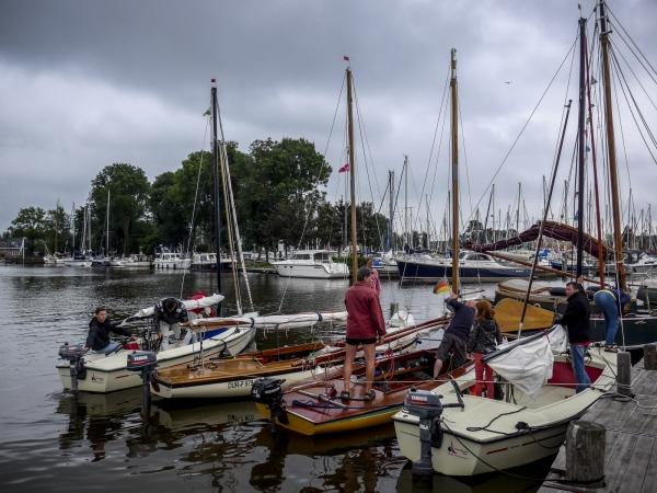 Bis zu 5 Boote passen locker an einen Liegeplatz - Von uns getestet!