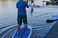 Um mit den SUPs loszulegen braucht es nicht viel:  Board und Paddel und los gehts!